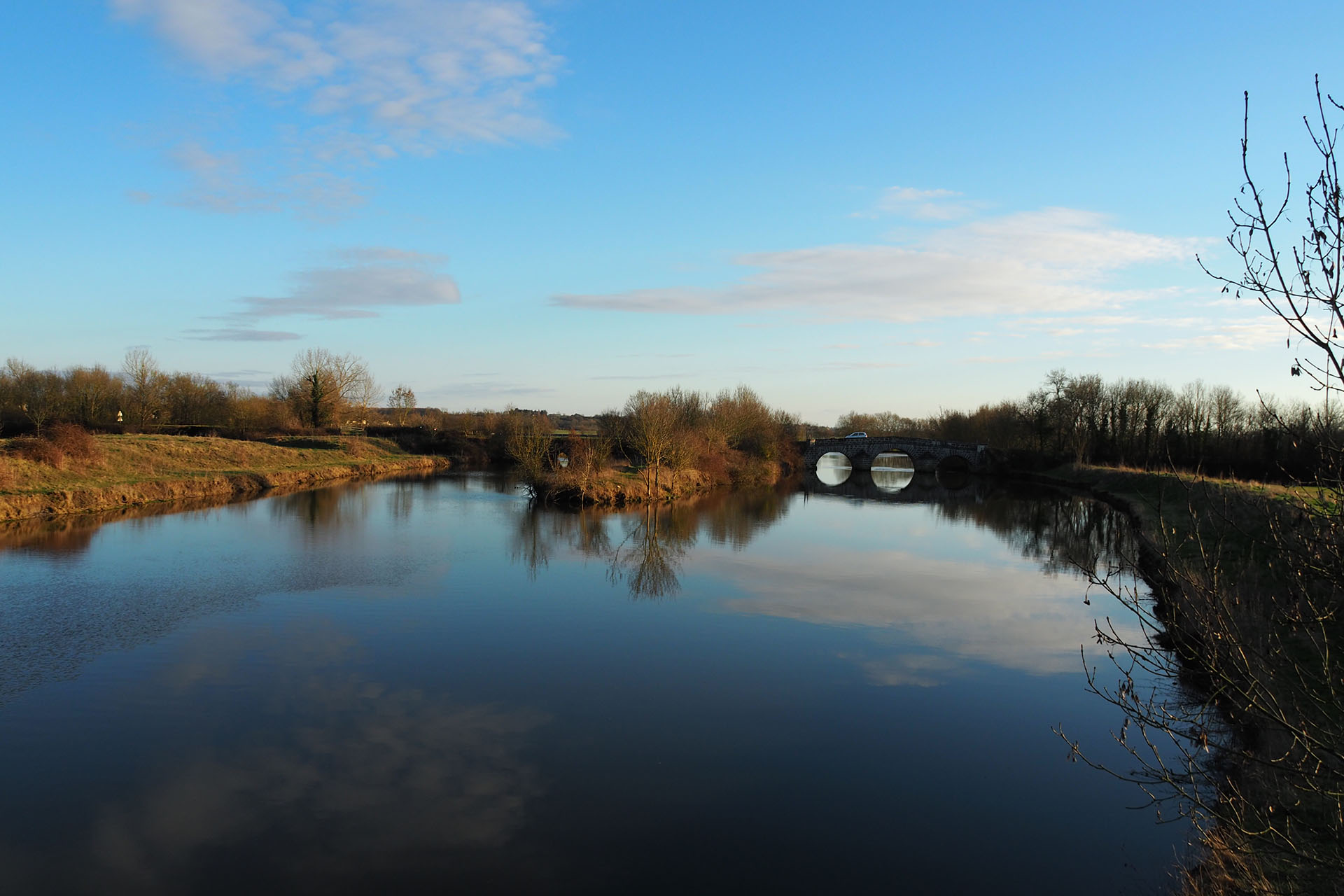 Vieux ponts sur le Lay à Lairoux
