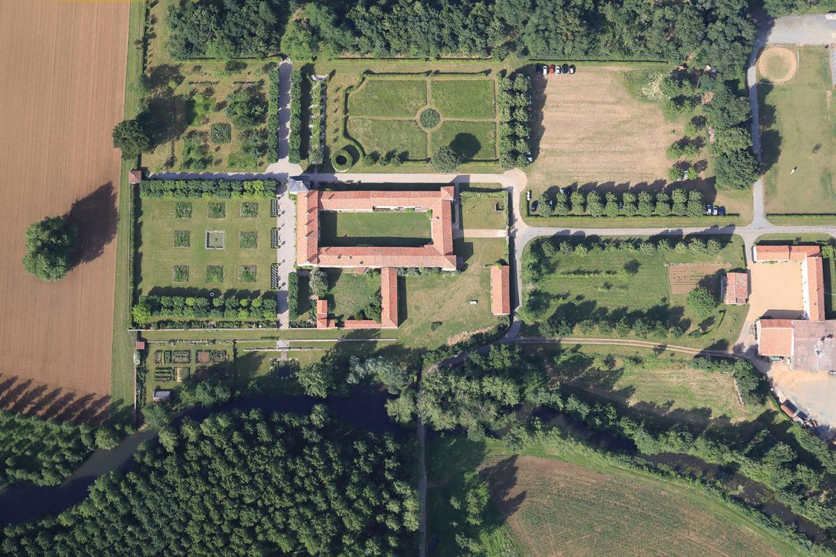 Le jardin de Chaligny à Sainte-Pexine