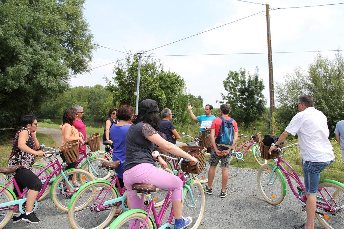 Balade commentée avec Original Vélo Tour, en bicyclette