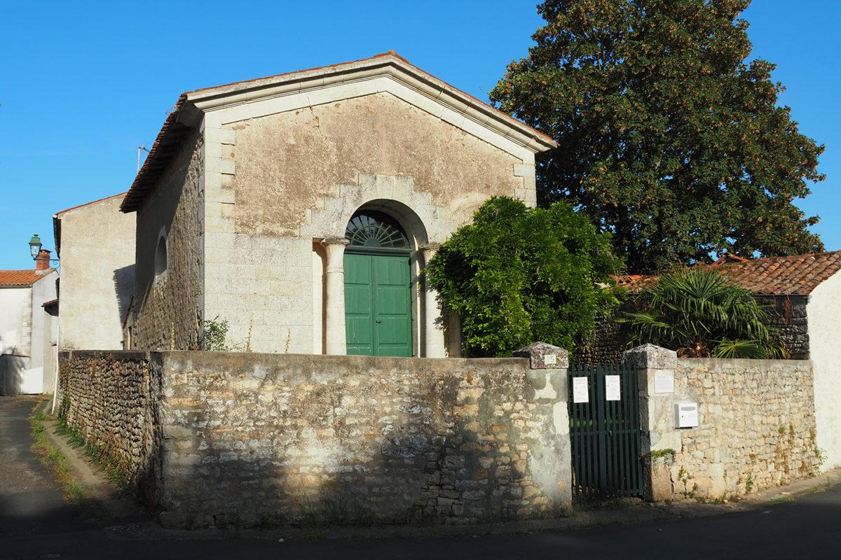 Temple protestant à Sainte-Hermine