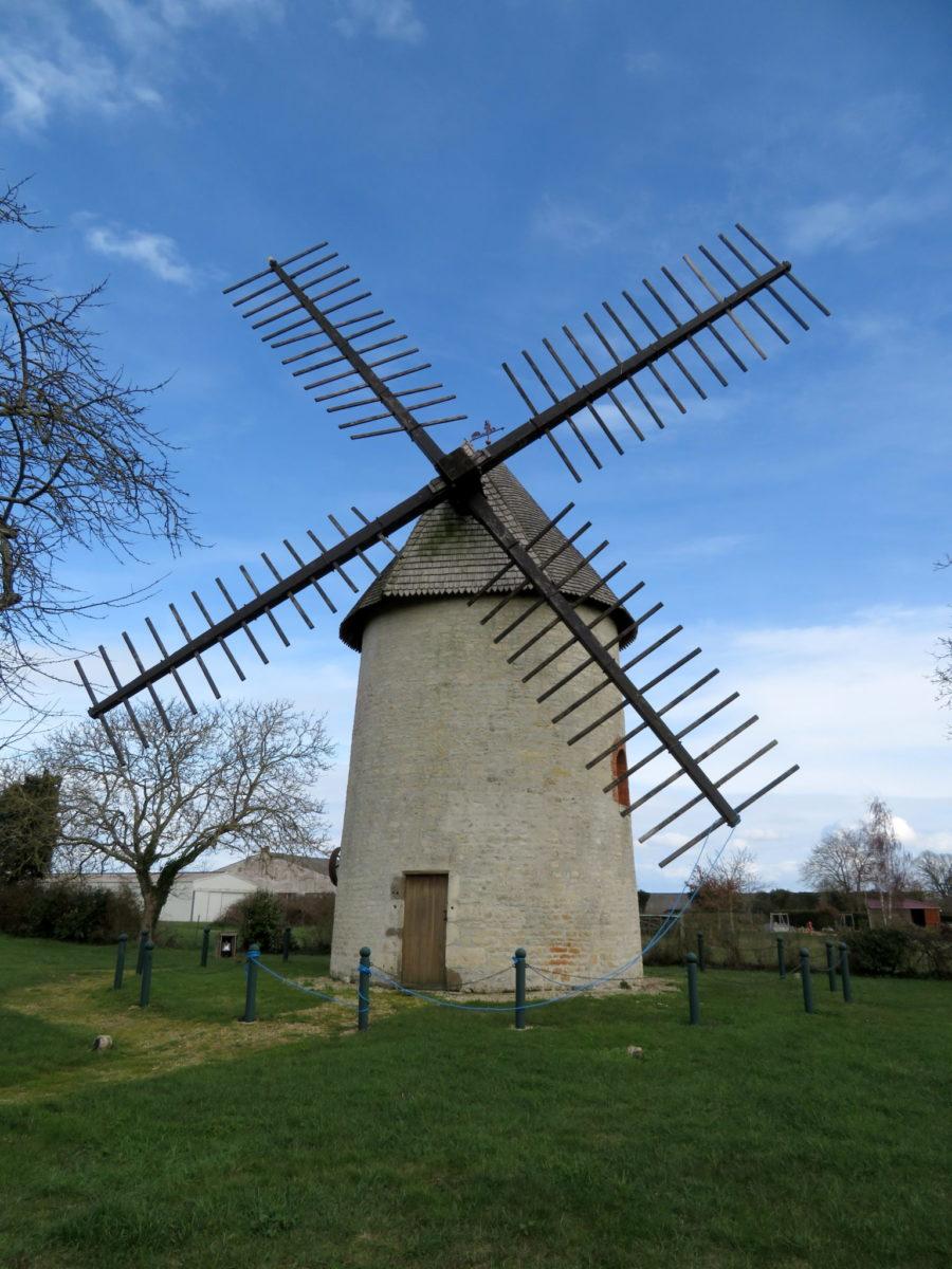 Moulin du champ de la Truie, mi XIXe siècle