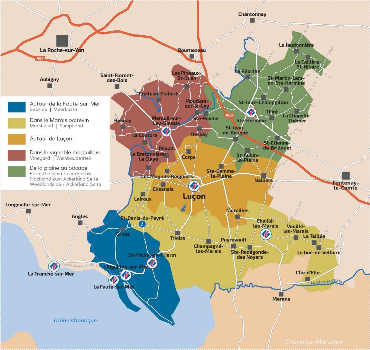 Territoire du Sud Vendée Littoral
