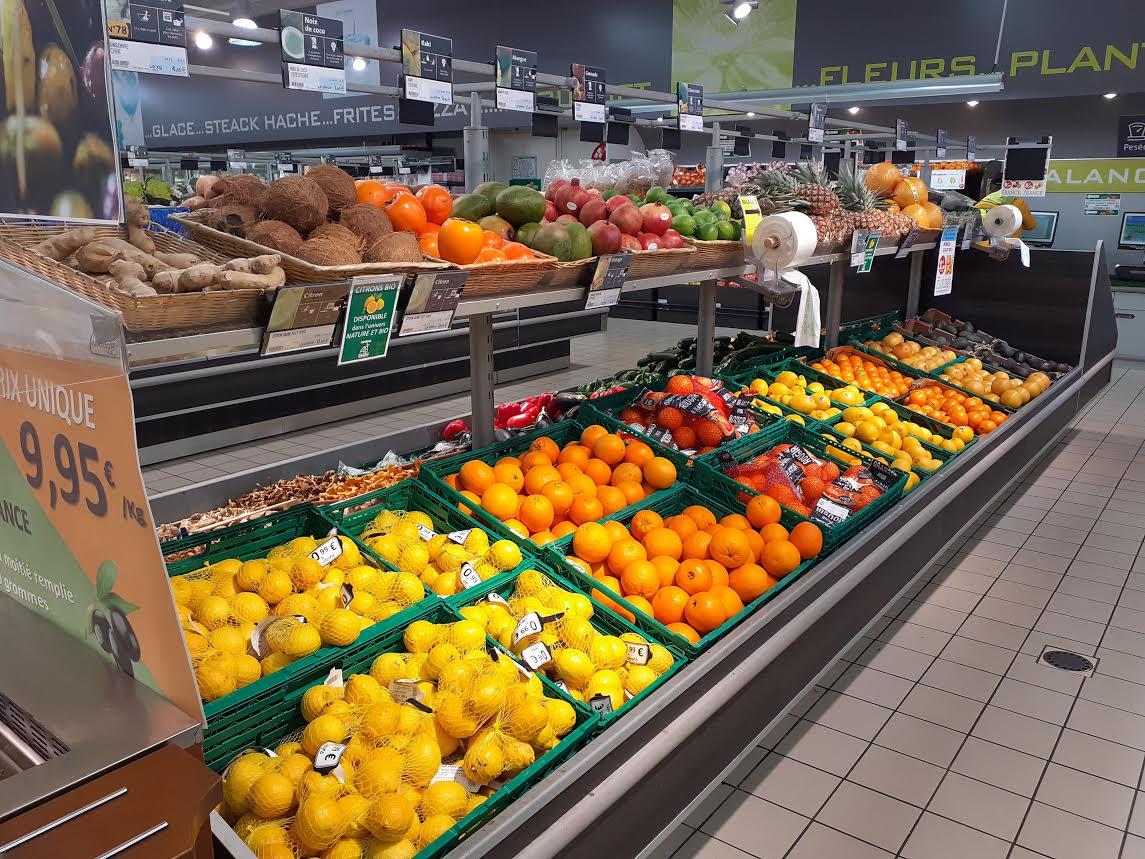 Rayon Fruits et Légumes – Bar à olives
