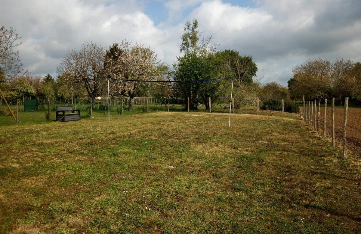 le gite de l'Échaudi – La Réorthe – Le jardin