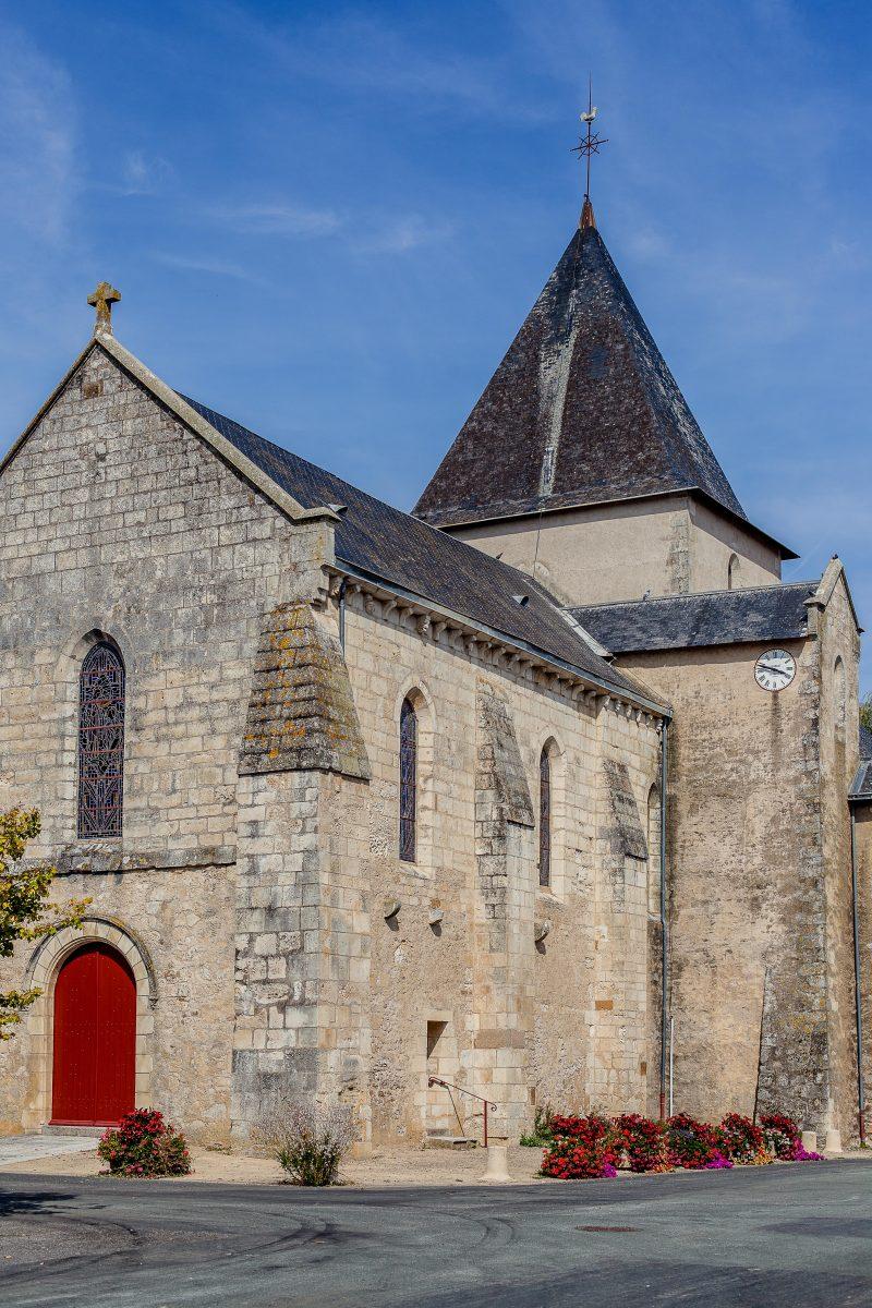 Eglise des Moutiers sur Lay