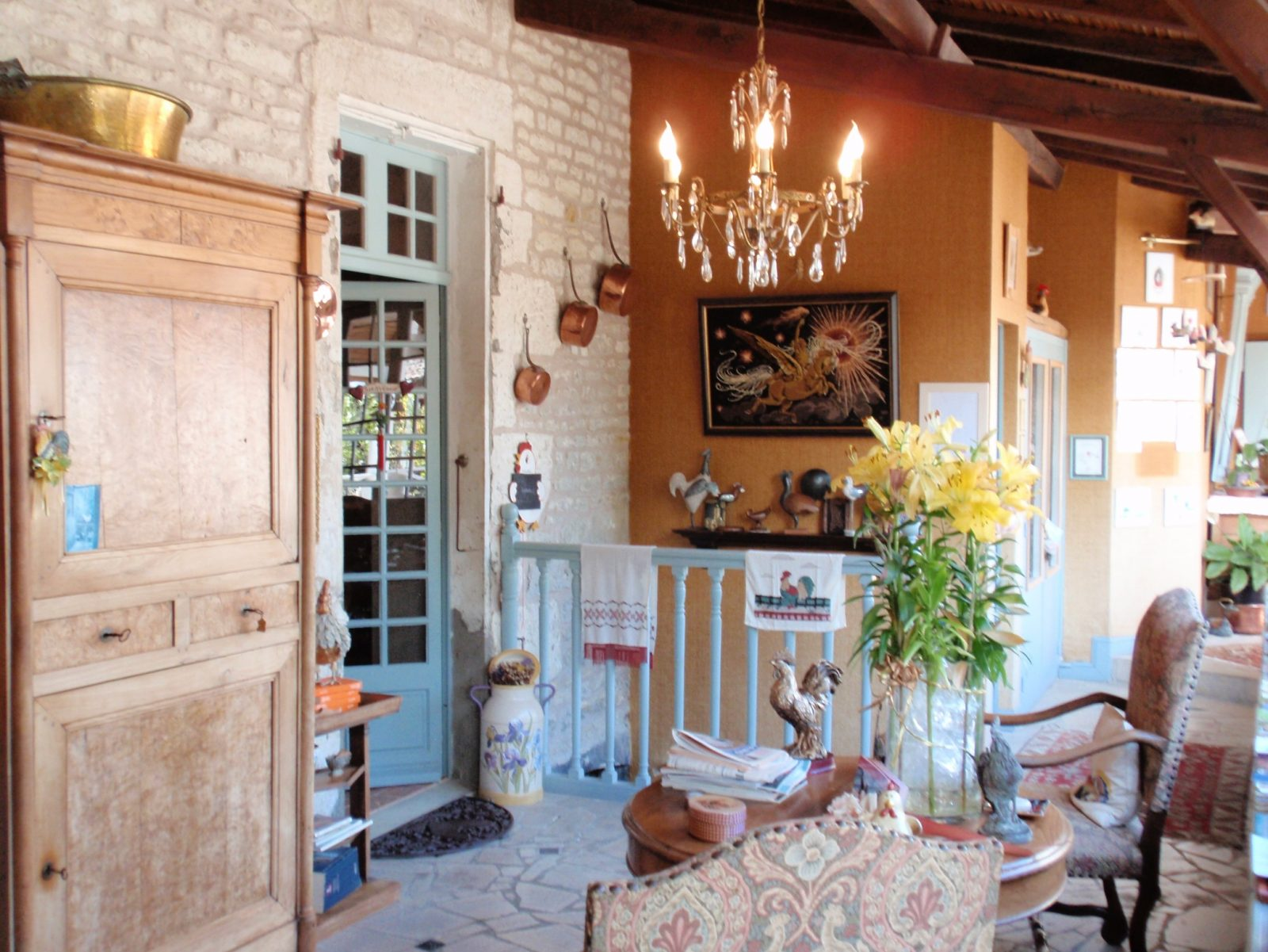 Chateau Moreilles entree veranda 22
