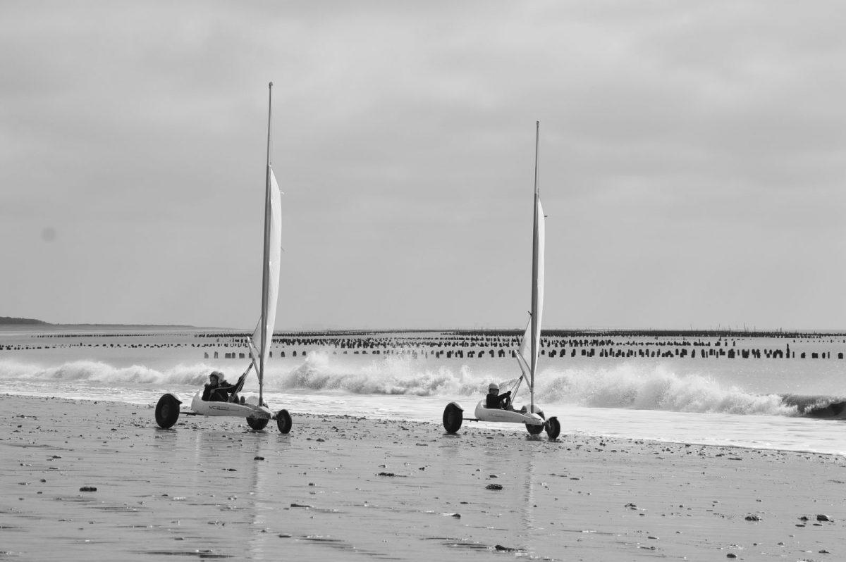 Char a voile – la Faute-sur-Mer