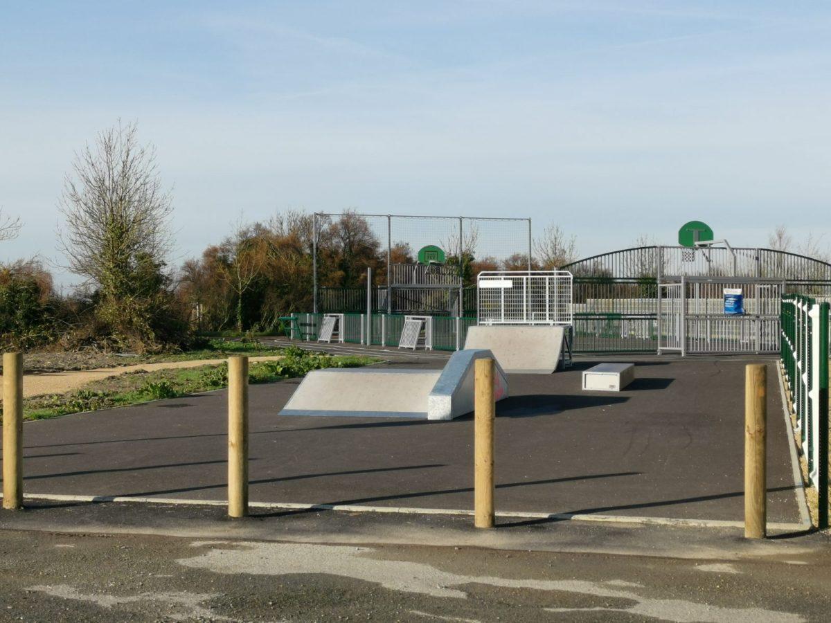 Skate park – Triaize – 85