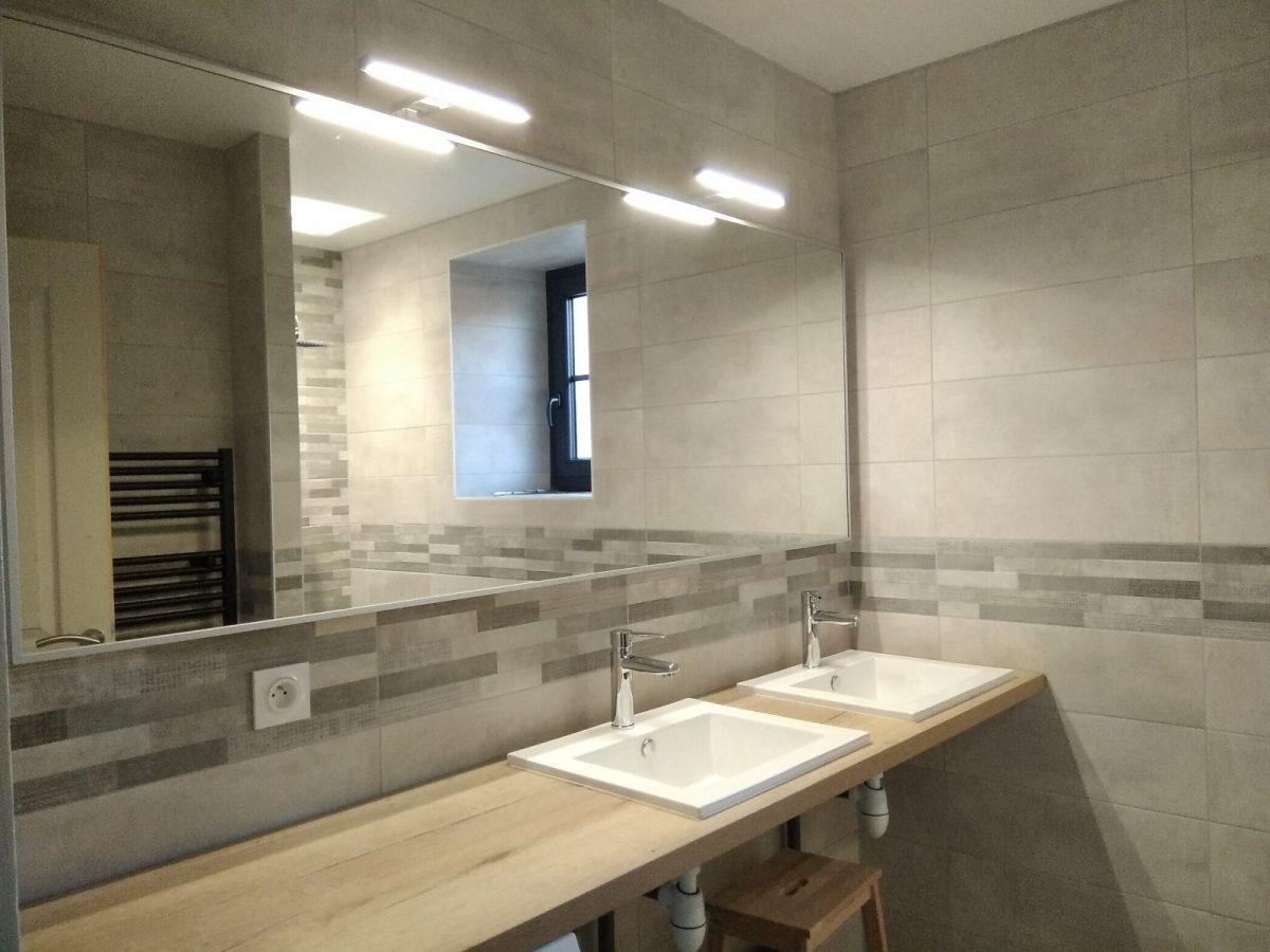 le gite de l'Échaudi – La Réorthe – salle de bain rez de chaussé