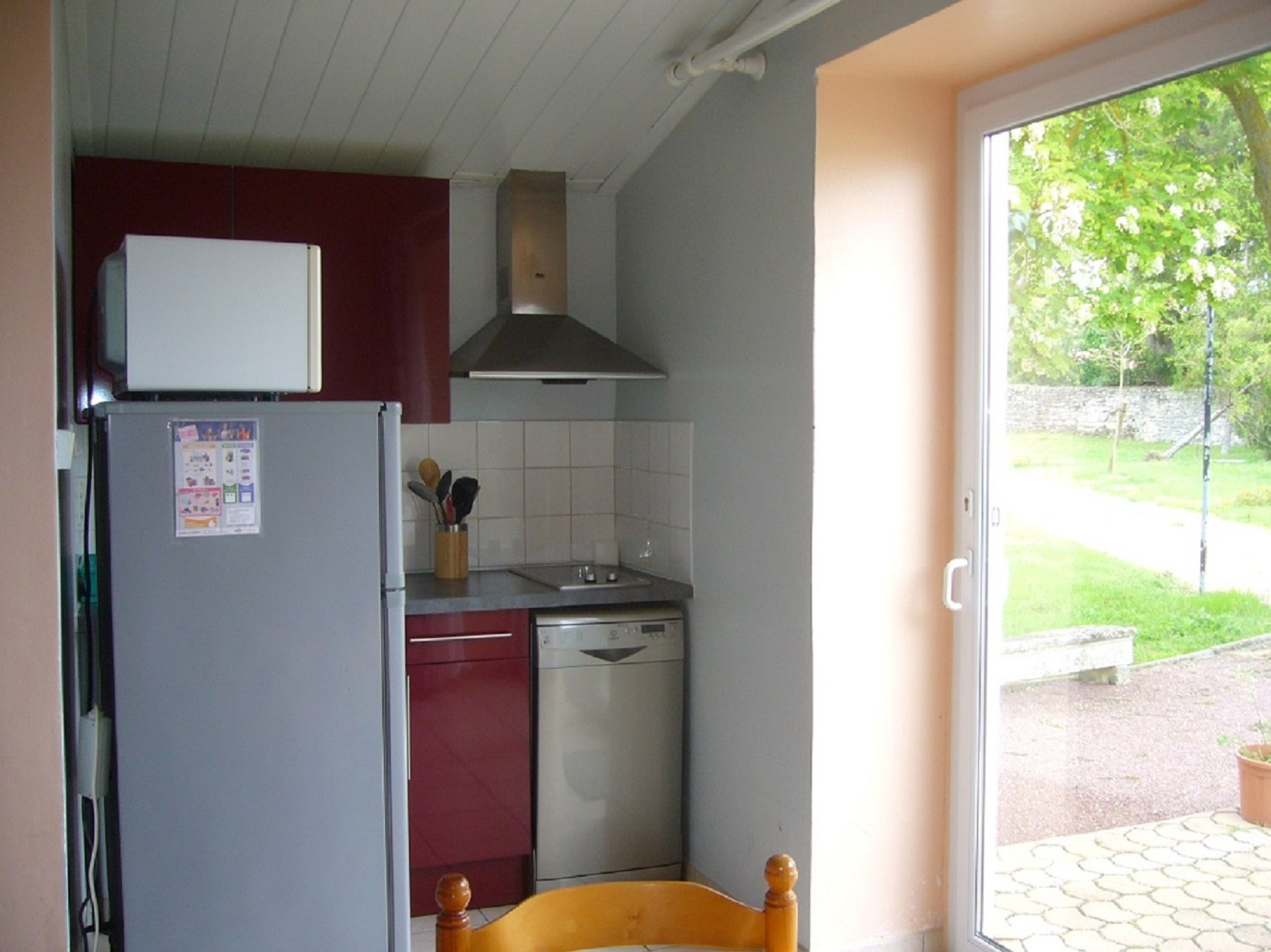 Kitchenette baie