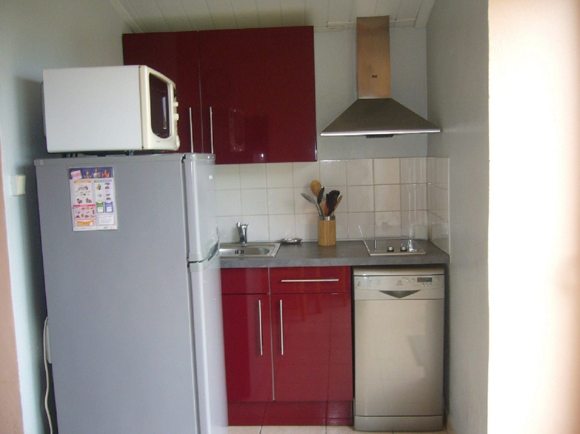 Kitchenette de face