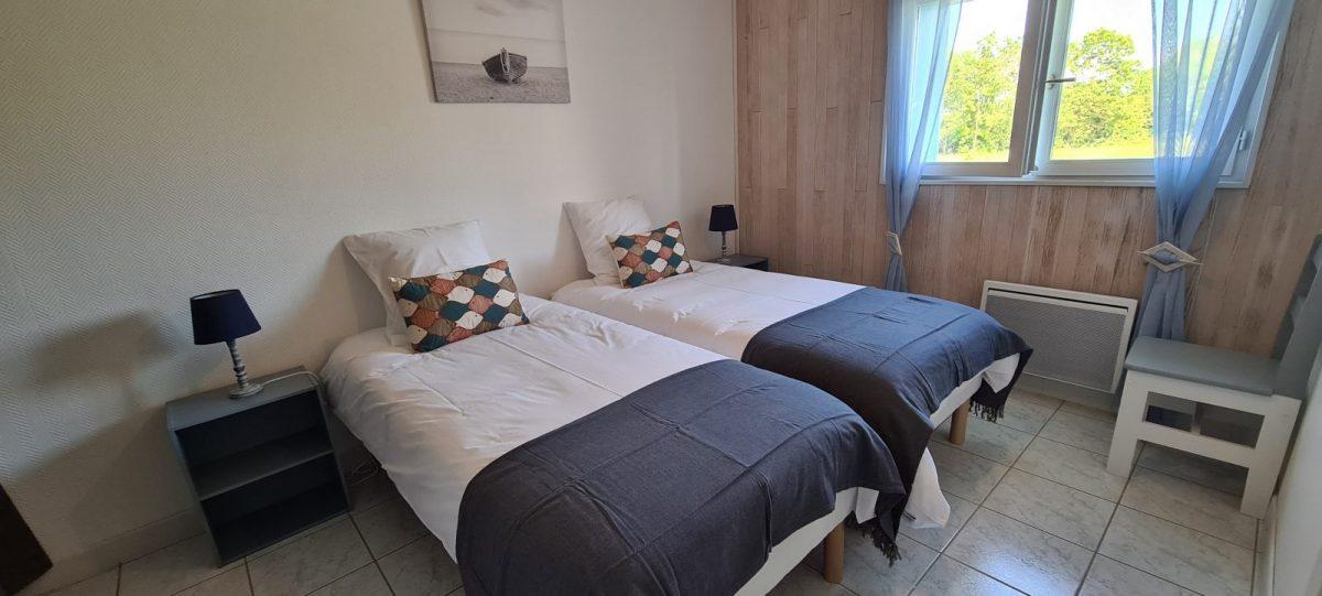 Le héron cendré chambre 2 lits simples