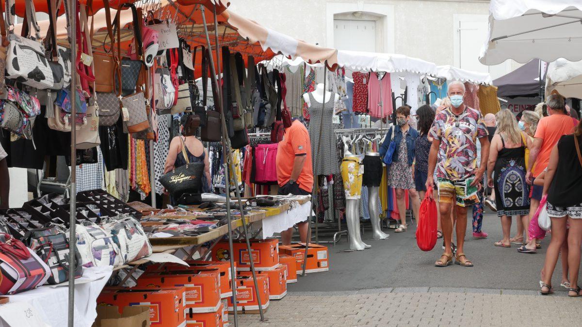 Marché de L'Aiguillon-sur-Mer