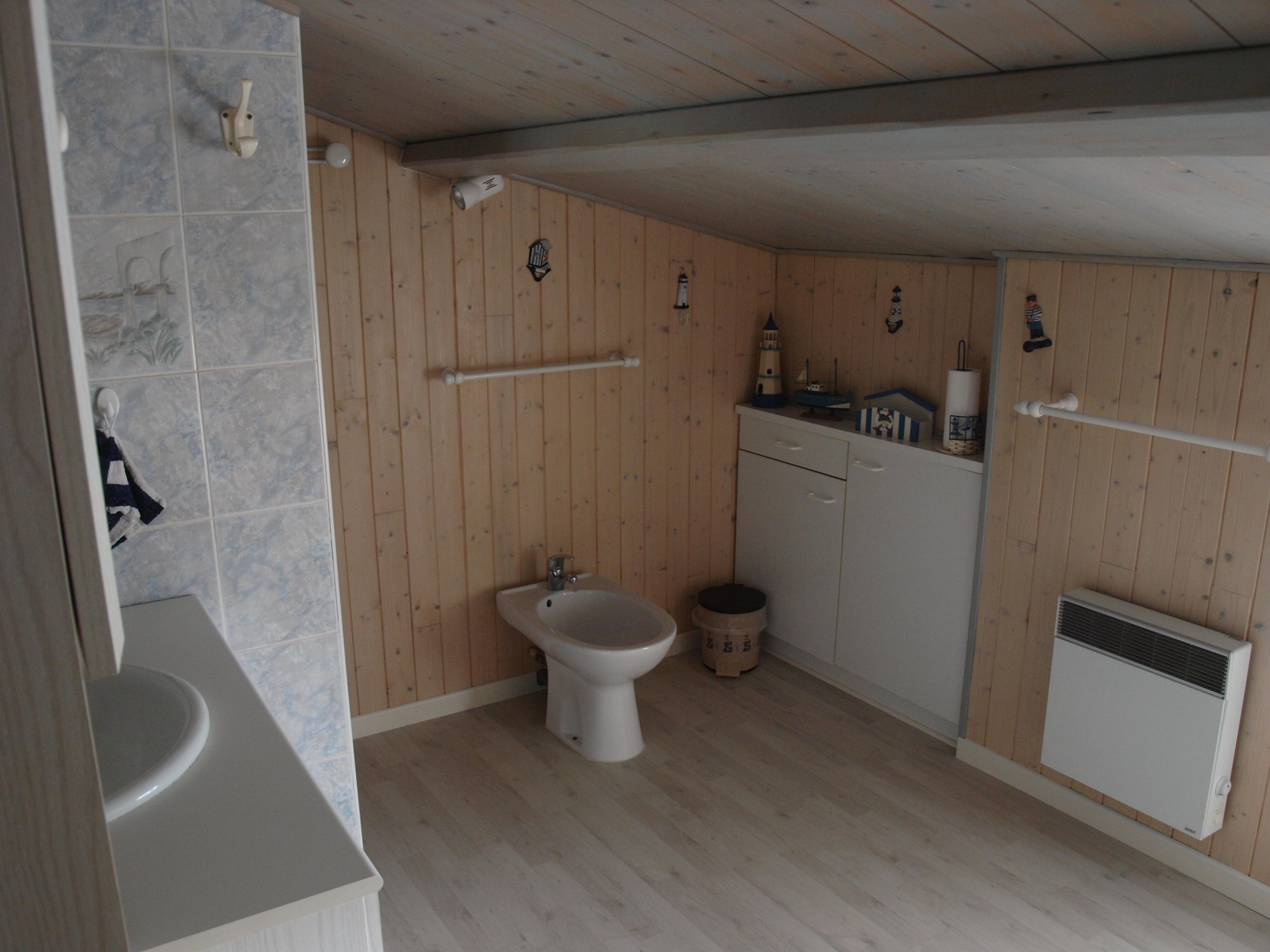 salle d'eau mansardée