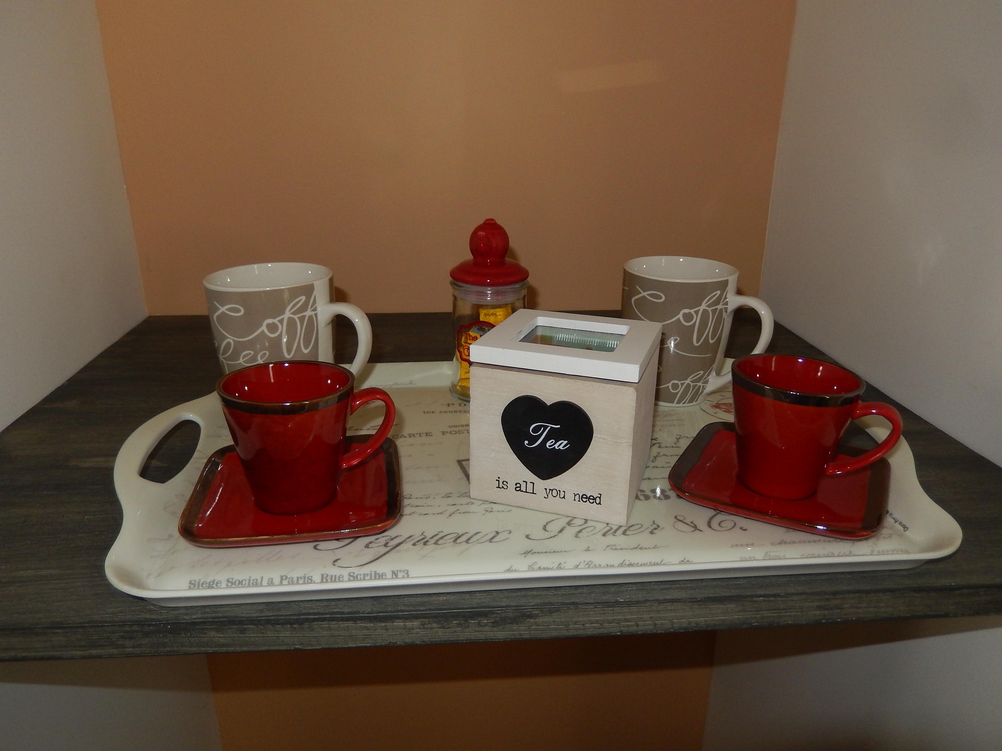 Plateau thé ou café