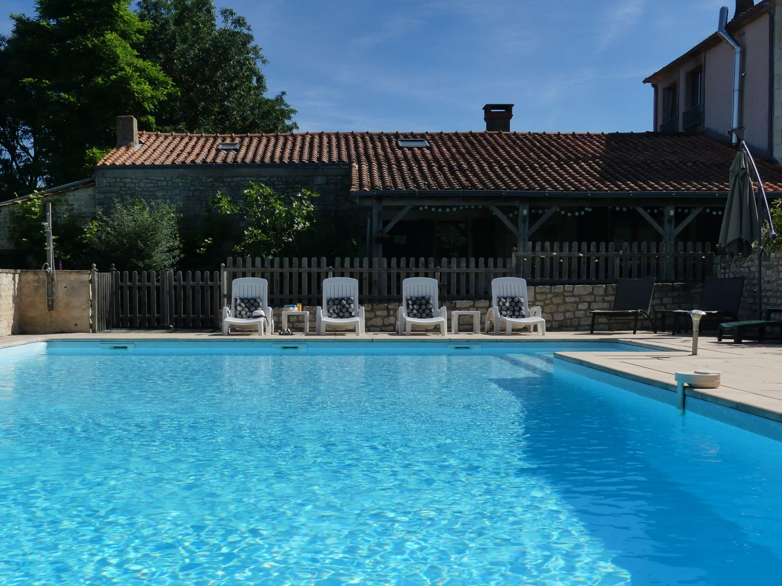 Swimming Pool at Maison Lairoux