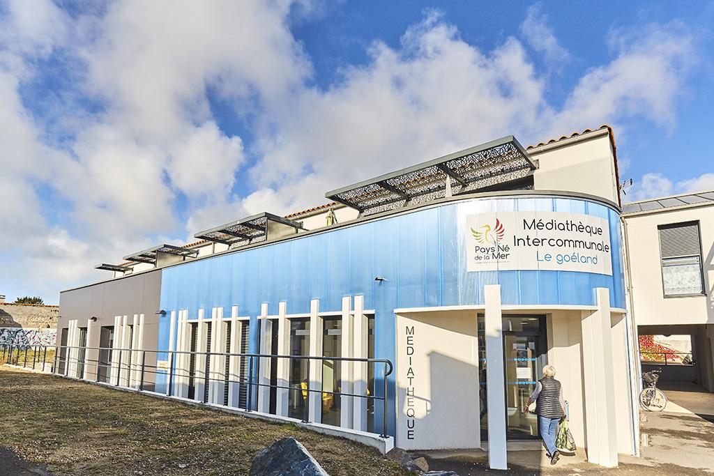 Médiathèque le Goéland – l'Aiguillon-sur-Mer – 85