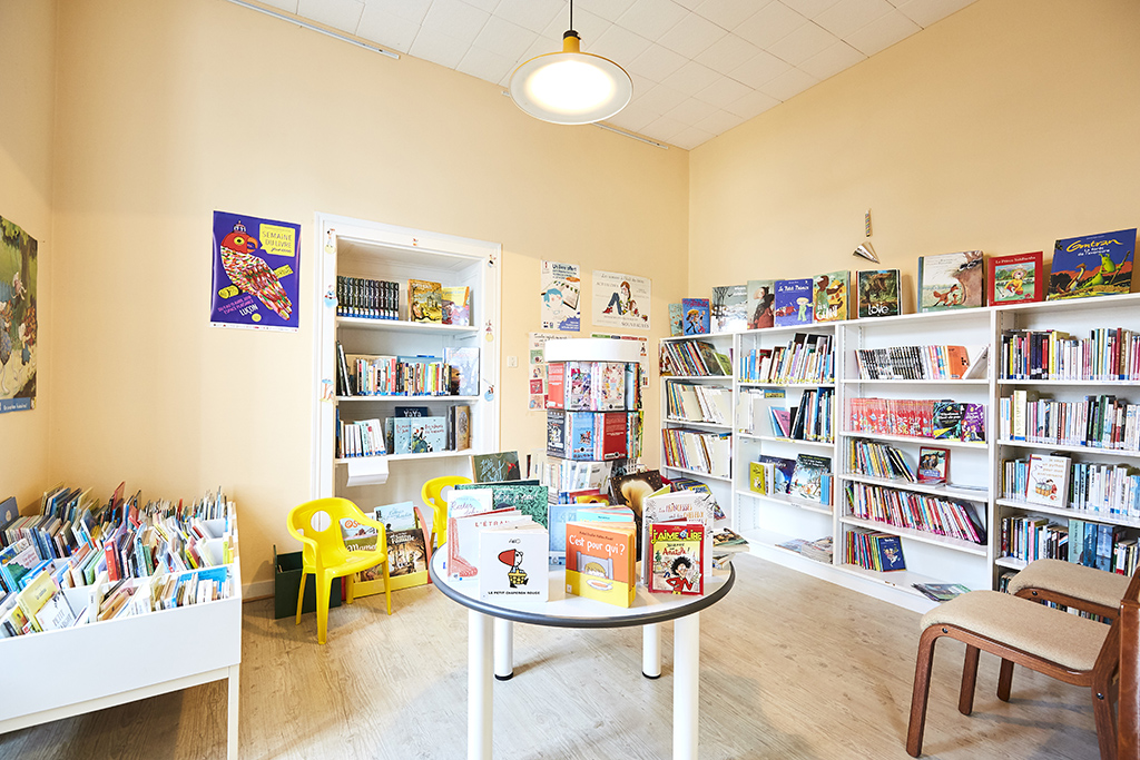 Bibliothèque – Saint-Michel-en-l'Herm – 85