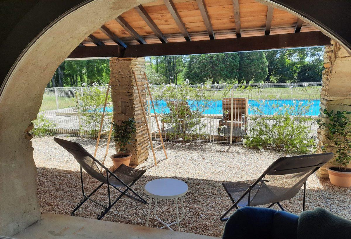 exterieur vitalité vue piscine