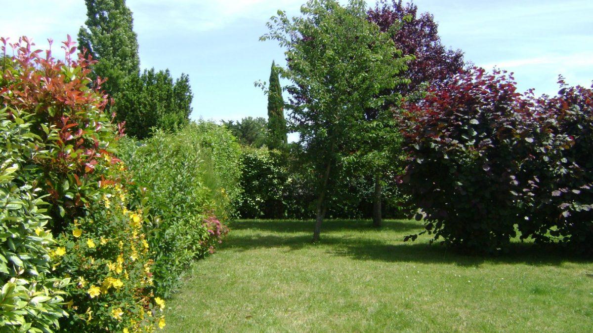 Meublé NATMARIAN-Grues Jardin arboré