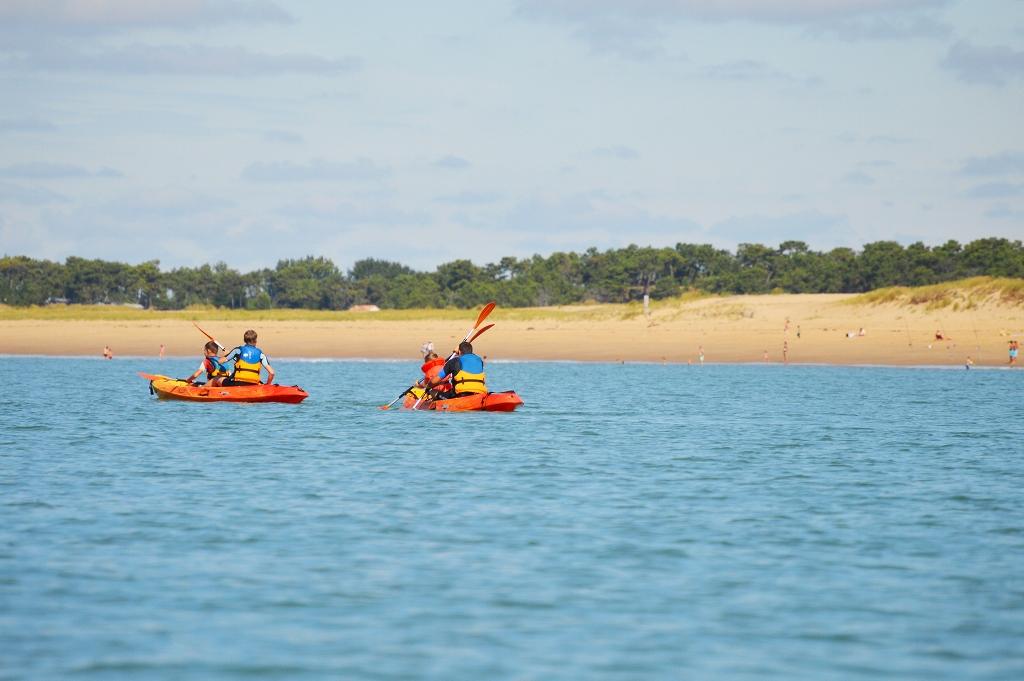 Centre nautique municipal – la Faute-sur-Mer – kayak de mer